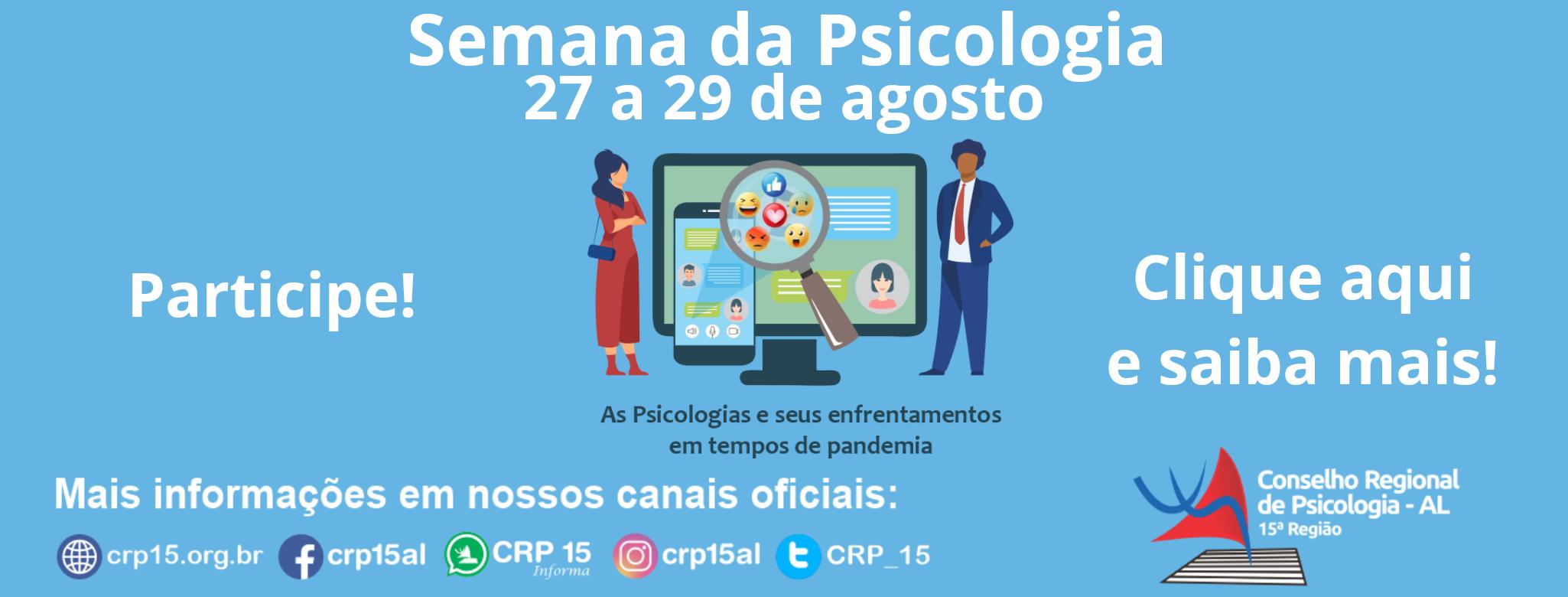 Semana da Psicologia 2020